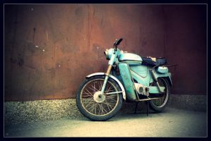 old motorcycle by AnalyzerCro