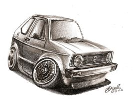 MK1 Golf GTI by NOzols
