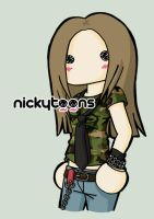 Avril Lavigne Losing Grip by NickyToons
