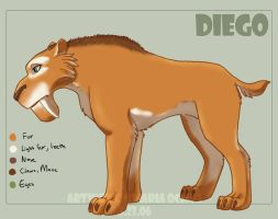 Ice Age - Diego the Sabertooth by agra19