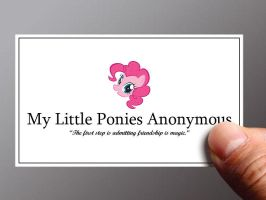 My Little Ponies Anonymous by xxxxbryanxxxx