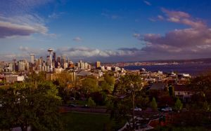 Seattle Skyline by manleyaudio