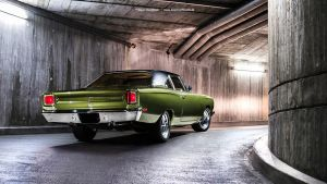 Green Road Runner by AmericanMuscle