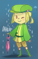 Pokemon OC: Dahlia the Politoed by ky-nim