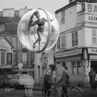 Melvin Sokolsky Painting for Pang by thatsmymop