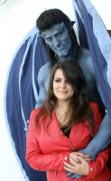 Goliath and Elisa Cosplay from Gargoyles at DCC 2 by PhoenixForce85