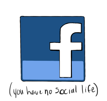 Facebook Sadness by sterlingparis