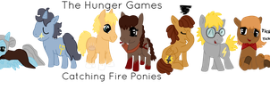 The Hunger Games Catching Fire - Ponies by Phewmonster