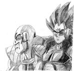 Nappa and Raditz by Victor0822