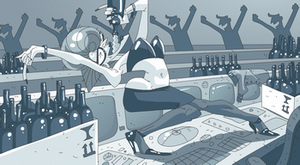 Alcohol dance by Ap6y3