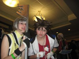 Sora and Riku by Witts-End