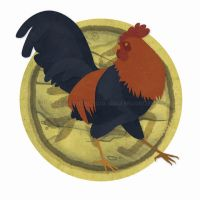 Chinese Zodiac: Rooster by erinwitzel