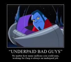 Underpaid Bad Guys Motivator by Violette-Aner
