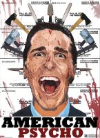 A New American Psycho Poster by MGProductions9