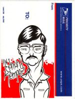 Edmund Kemper Sticker by scumbugg