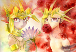 the Lotus and the Red Rose by Inakunaru-Yagi