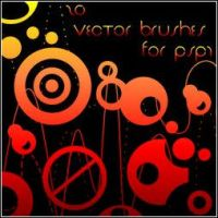 20 vector Brushes-PSP7 by gazer-X