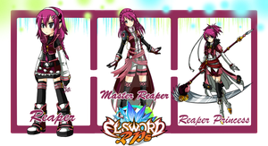 Elsword RPs - Job Path Sheet, 1st Path, RMRRP by ChibiSalLina