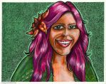 Jennifer Caricature Cartoon Portrait by TCosbyJr