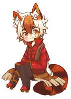 Chibi Commission: Reid by kiimcakes