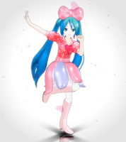 MMD - CANDY CANDY Miku by SuminoChan