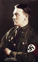 Adolf Hitler (my colourization from tumblr) 2 by Julia-Koterias