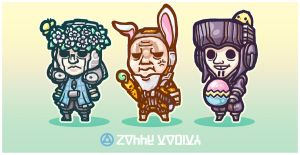 Warframe - Happy Easter! by yuikami-da