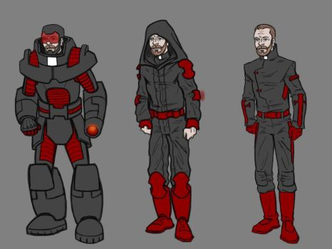 Father Michael costume designs 2 by Tim4