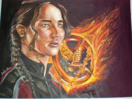 Katniss Everdeen by suesam10
