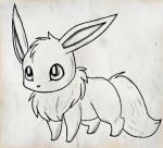 Eevee by Awkward-Zombie-Fan