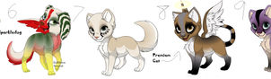 MASS FELINE AND CANINE ADOPTABLES! (read descr by Reemiks