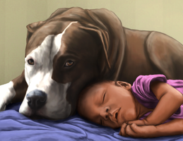 Nanny Dog by L-Young