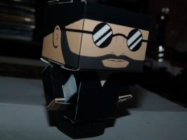 Jean Reno : Leon Cubeecraft by Demon-Souls