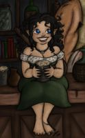Cherry Thorn the Bard by EmiliAlys