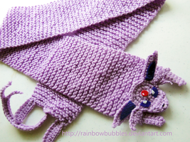 Espeon Scarf by Rainbowbubbles