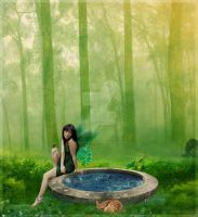 Lady of Nature by hiddenxmemories