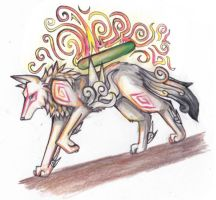 Okami: Firelight by RandomSmileyCat