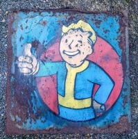 Vault Boy by NeverenderDesign