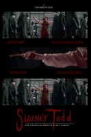 Sweeney Todd Movie Poster by LamechO