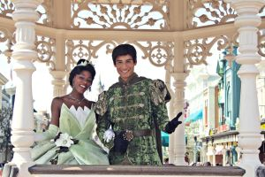 Tiana and Naveen by Mlle-Dreamer