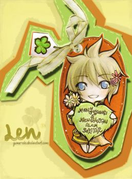 V.Len - Bookmark by Yume-Rie