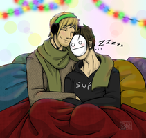 Christmas/New Years_PewdieCry by 13OukaMocha13