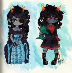 The Scourge Sisters by CosmicCherry