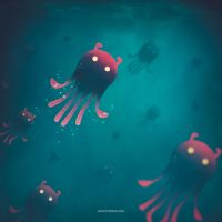 Sea Monsters - Into the Monsters Forest by hotamr