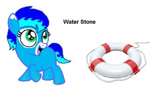 Water Stone by bluewolfpups