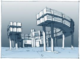 Building concept by RaysinMocona