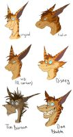 Ray - different styles by Green-Nightingale