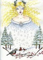 The Snow Queen by Kitty-Grimm