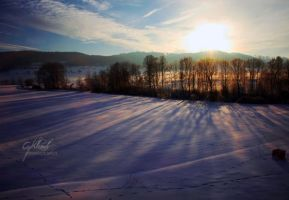 winter sunrise by CaryM