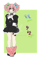.:OC:. Roxxi Ref by thejellyfishprincess